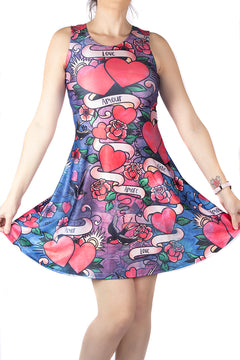 Wild Bangarang Love Language Skater Dress