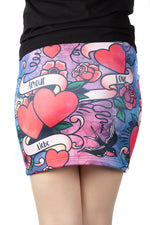 Wild Bangarang Love Language Skirt