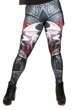 Anne Stokes Valour Leggings