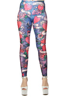 Wild Bangarang Love Language Leggings
