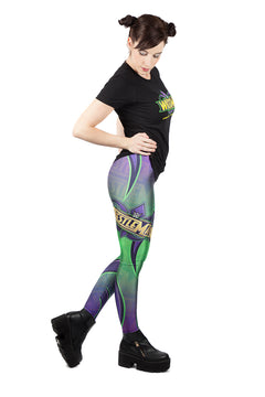 WWE Wrestlemania Leggings