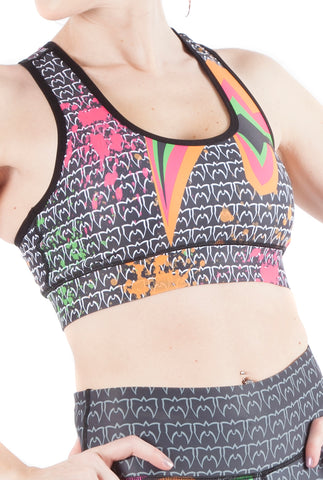 """Feel The Power"" Ultimate Warrior WWE Sports Bra"