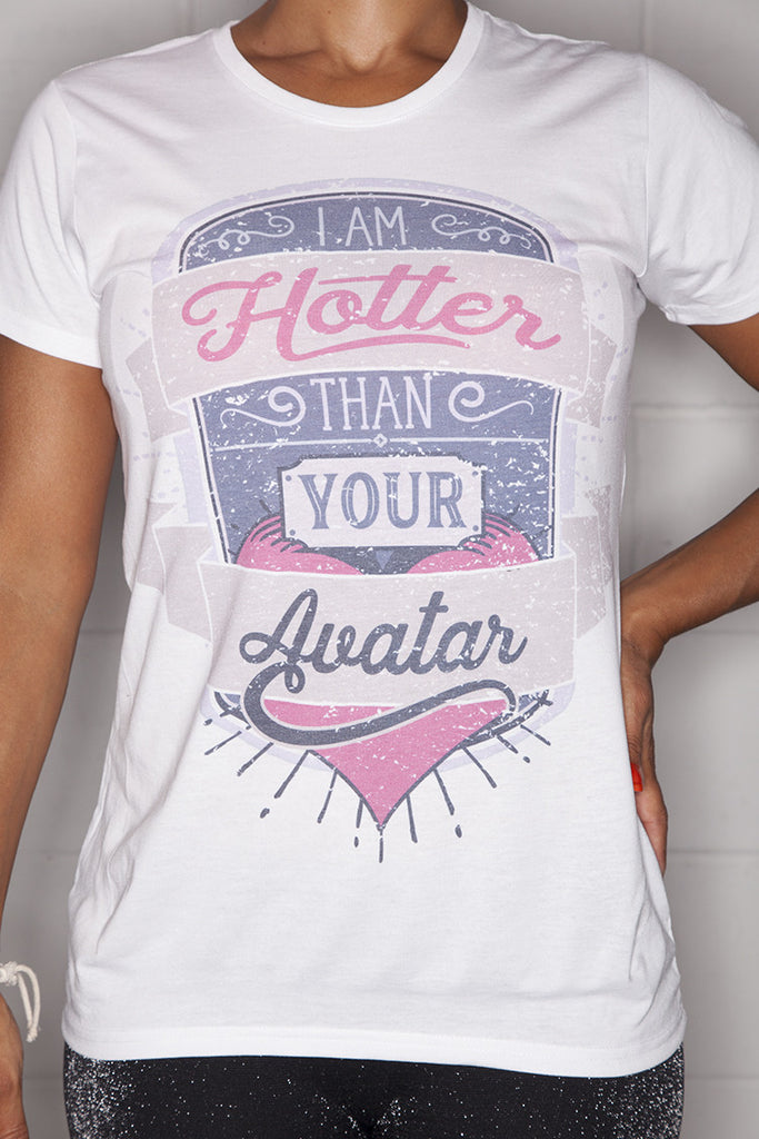 Avatar T-Shirt Ladies White