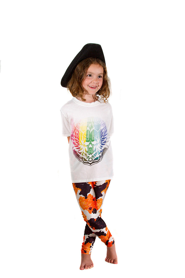KIDS Kellee Art Koi Mermaid Leggings
