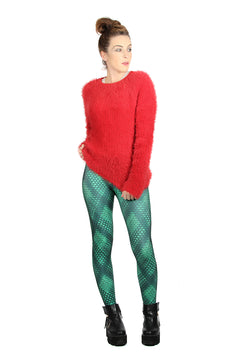 Wild Bangarang Christmas Computer Binary Leggings