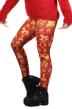 KIDS Wild Bangarang Christmas Gamer Leggings