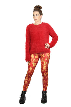 Wild Bangarang Christmas Gamer Leggings