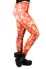 Wild Bangarang Christmas Gamer TOASTY Leggings