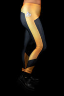 Star Trek The Next Generation Operations Yellow Leggings