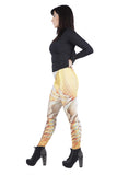 Yellow Dragon Skin Leggings