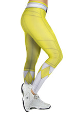 Hasbro Mighty Morphin Power Rangers Yellow Leggings