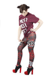 "KIDS ""YES"" Daniel Bryan WWE Leggings"