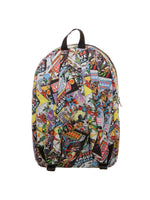 DC Comics Justice League Comic Strip Backpack