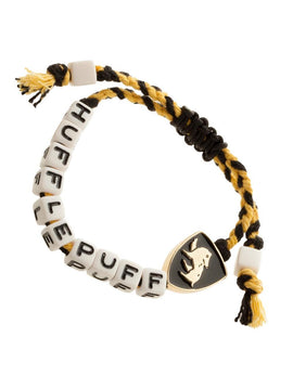 Harry Potter Hufflepuff Beaded Bracelet