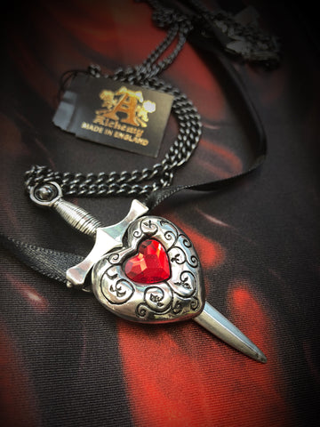 Alchemy Gothic Jewellery Love is King Necklace