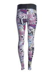 Official Hasbro My Little Pony Floral Grey Marl Fitness Leggings