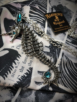 Alchemy Gothic Jewellery Aequicorn Seahorse Necklace