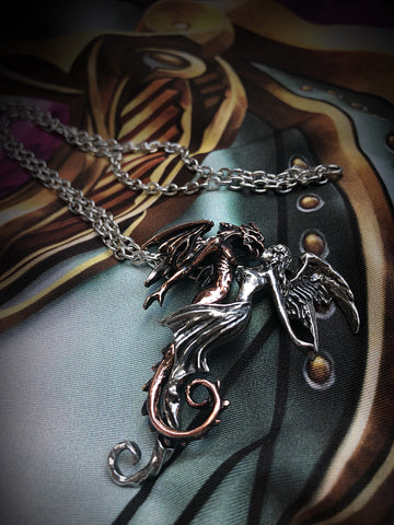 Alchemy Gothic Jewellery The Chemical Wedding Necklace