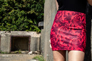 Official Assassin's Creed Legacy Red Print Mini Skirt