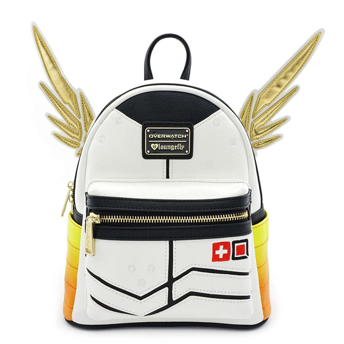 a62b833c3ee Loungefly Blizzard Overwatch Mercy Mini Backpack Bag