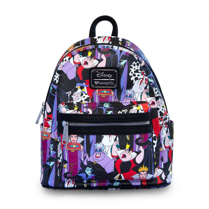 98e21edc885 Loungefly Disney Villains Mini Backpack Bag