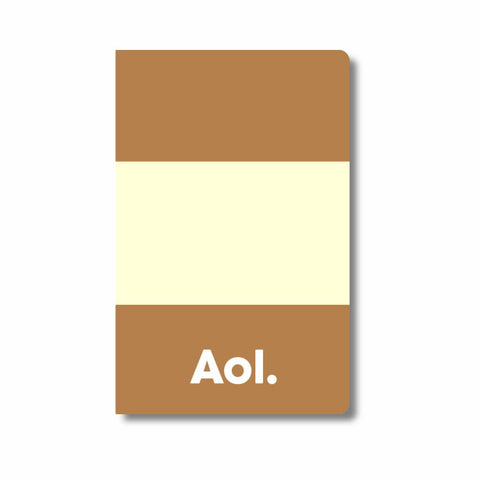 Aol. moleskine pocket journal