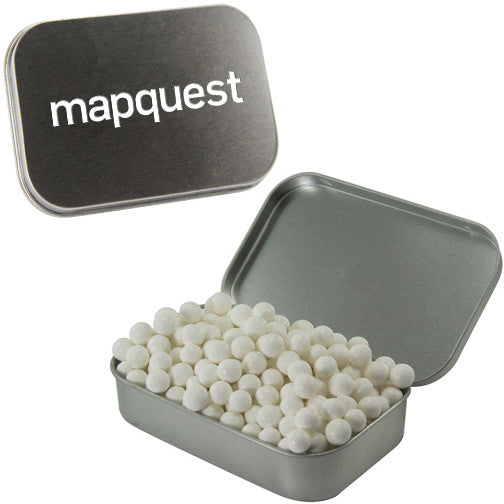 Mapquest mint tins