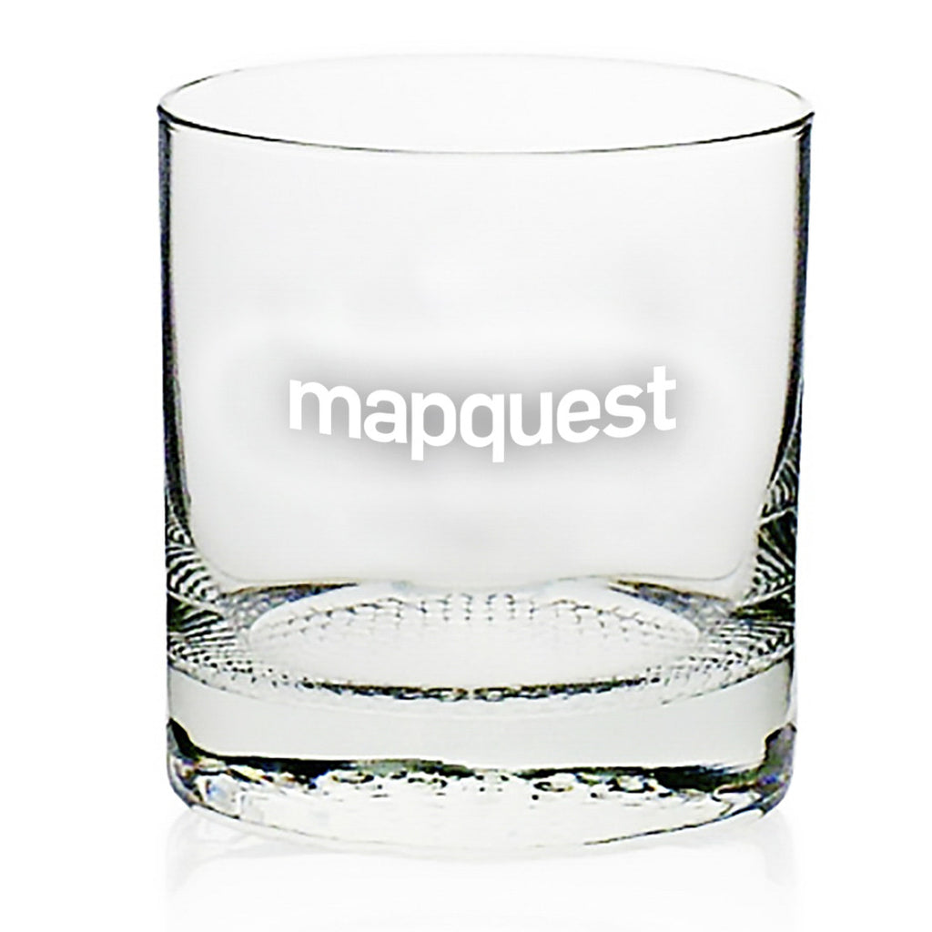 Mapquest 11 oz. Whiskey Glass