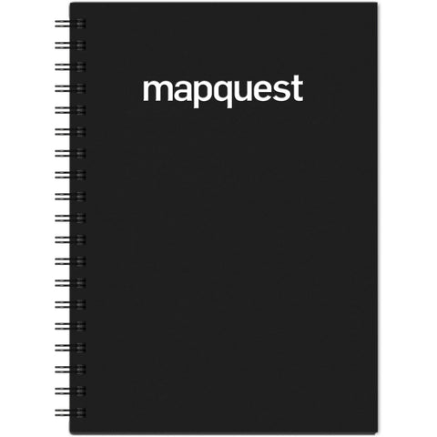 Mapquest Wirebound Journal