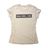 Walk, Bike, Run Performance Tee