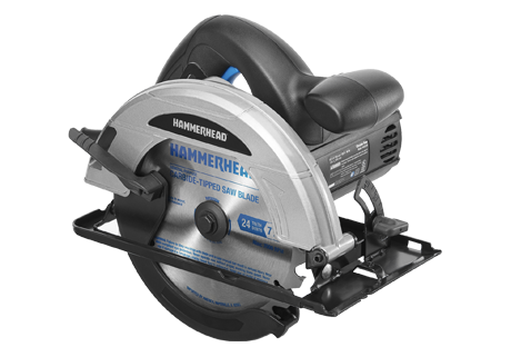 12-Amp 7-1/4 Inch Circular Saw with Saw Blade