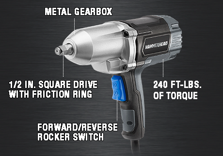7.5-Amp 1/2 Inch Impact Wrench