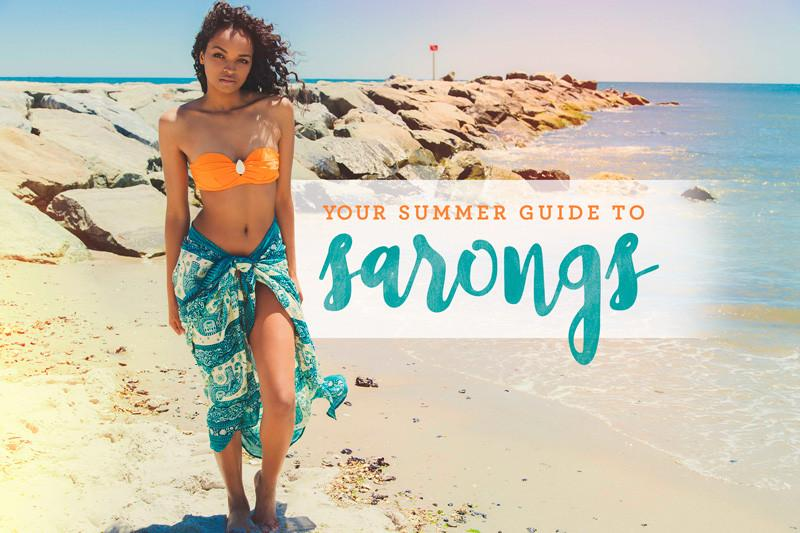 Your Summer Guide to Sarongs