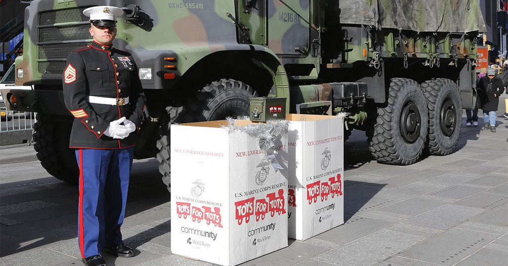 TEP x Trrtlz x Toys For Tots : Our Holiday Donation