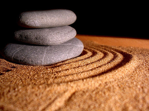 Create a peaceful space to begin practicing meditation. Candles or Japanese zen gardens might be a plus.
