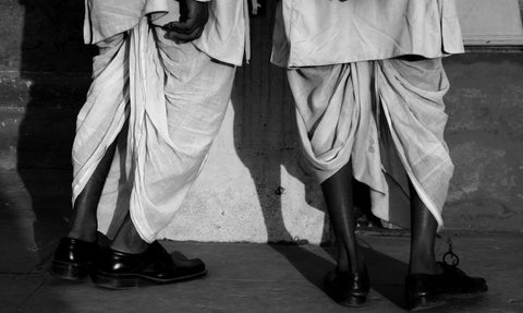 Dhoti in Deli via Flickr