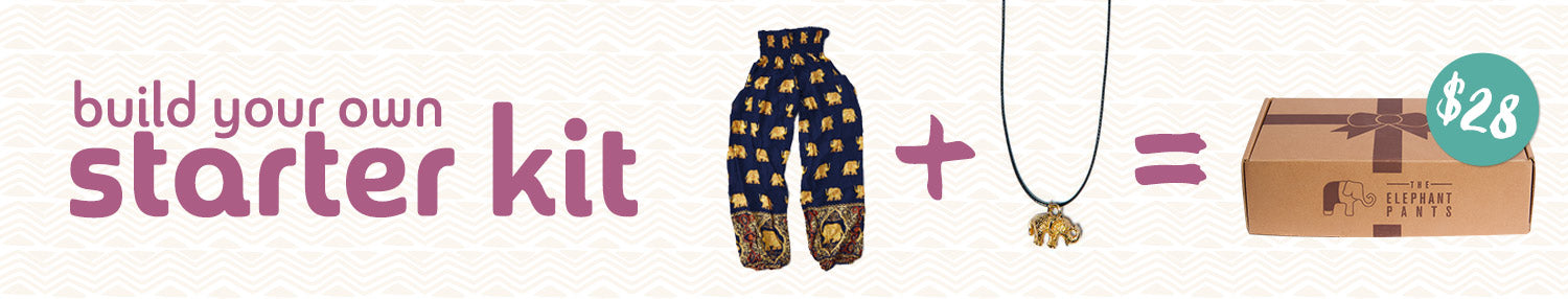 The Elephant Pants Starter Kit: Get an entire outfit for <span class=money>$28.00</span>