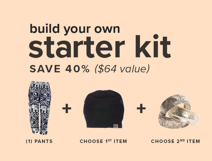 The Elephant Pants Starter Kit: Get an entire outfit for <span class=money>$36.00</span>