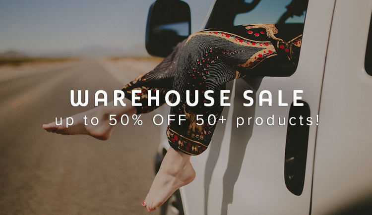 Warehouse Sale: Up to 50% off 50+ products