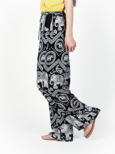 Black Diamond Boho Pants - The Elephant Pants - 3