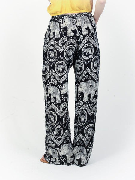 Black Diamond Boho Pants - The Elephant Pants - 4
