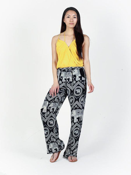 Black Diamond Boho Pants - The Elephant Pants - 2