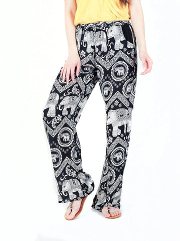 Black Diamond Boho Pants