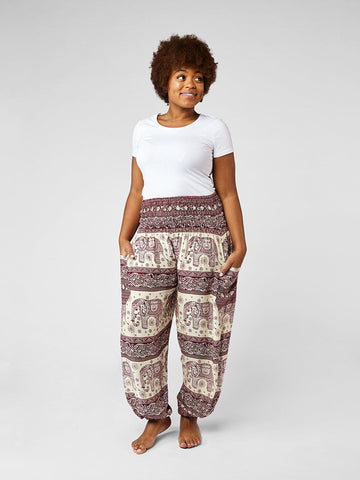 Bandoola Plus Size Harem Pants