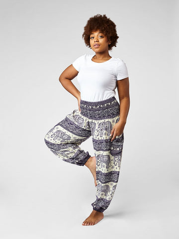Drona Plus Size Harem Pants
