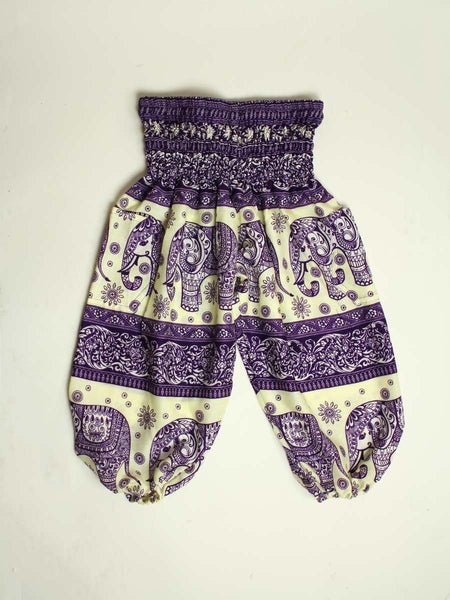 Kids Drona Harem Pants - The Elephant Pants