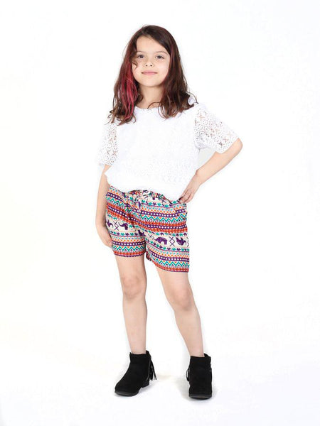 Kids Hattie Shorts - The Elephant Pants - 4