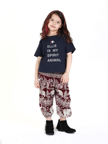 Kids Kalama Ellie is My Spirit Animal T-Shirt