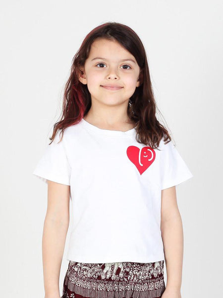 Kids Kalama Elephant Heart T-Shirt - The Elephant Pants - 1