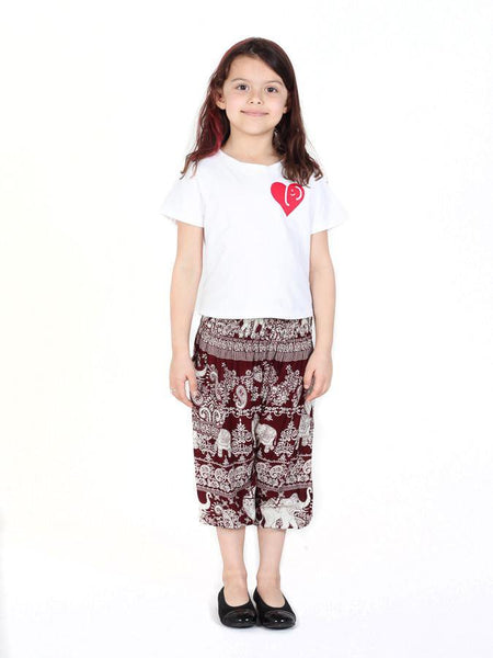 Kids Kalama Elephant Heart T-Shirt - The Elephant Pants - 2